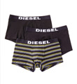 Diesel Andre Cotton Stretch Trunks - 3 Pack SAB2AAMR