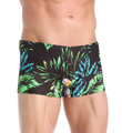 Diesel Hero All Over Tropical Print Swim Trunks SMNRAALU