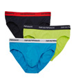 Emporio Armani Stretch Cotton Fashion Briefs - 3 Pack 3566P717