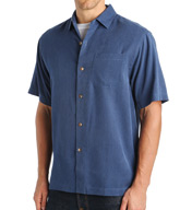 Tommy Bahama San Clemente Silk Short Sleeve Button Down T311915