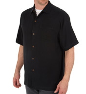 Tommy Bahama Havana Herringbone Button Down Camp Shirt T314422
