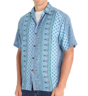 Tommy Bahama It's Luau Time Somewhere Cotton Silk Button Down T311887
